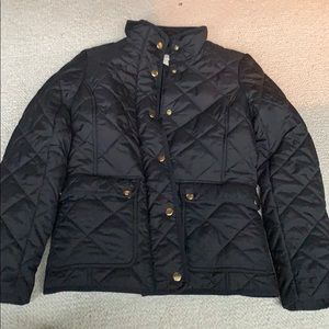 J crew women's xs field jacket quilted